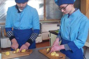 «Обробка бульбоплодів та коренеплодів, форми нарізування і їх кулінарне використання»